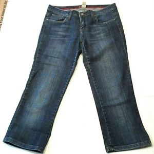 Refuge Juniors Cropped Jeans Capris Size 11